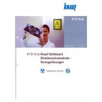 Detailbl. K131-S.at Knauf Safeboard Strahlenschutzwände - Vorzugslösungen (010)