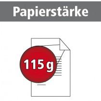 A4 quer Broschüren 115g