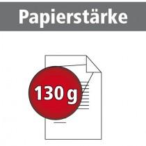 A4 quer Broschüren 130g