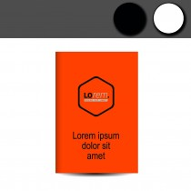Leuchtplakate neon orange