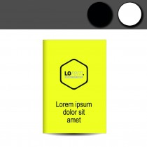 Leuchtplakate neon gelb